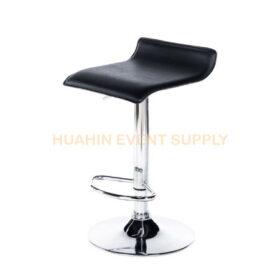 เช่าเก้าอี้สตูลบาร์เบาะหนังสีดำ