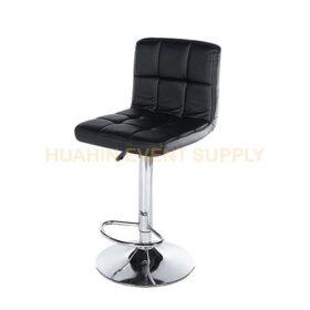 เช่าเก้าอี้สตูลบาร์พนักพิงสีดำ