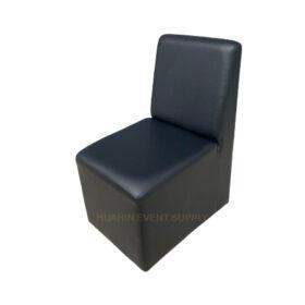 เช่าเก้าอี้สตูลสีดำพนักพิง
