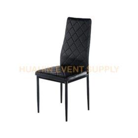เช่าเก้าอี้เบาะหนังสีดำ