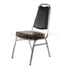 เช่าเก้าอี้นวมเบาะสีดำ