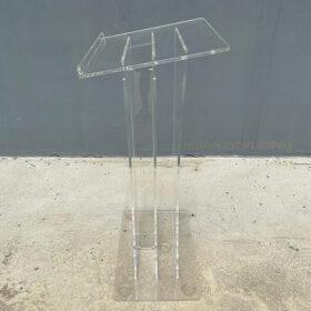 podium acrylic