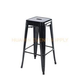เช่าเก้าอี้สตูลบาร์เหล็กสีดำ