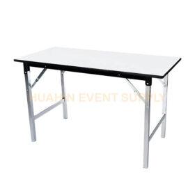 เช่าโต๊ะหน้าขาว 1.5x0.6