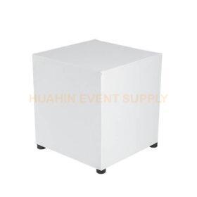 เช่าโต๊ะสตูลลูกเต๋าสีขาว
