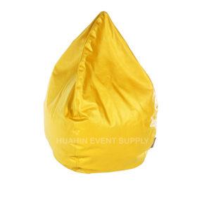 เช่า bean bag สีเหลือง